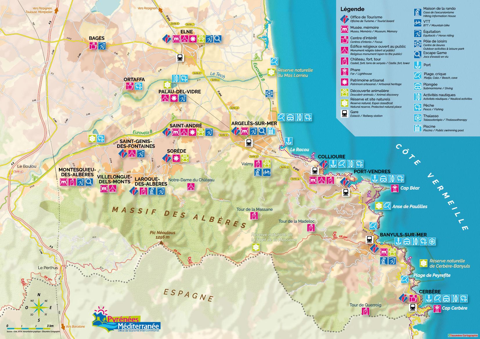 Cartographie Touristique Oekoumene Cartographie